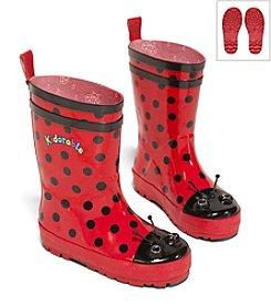 Kidorable™ Girls' Ladybug Rain Boots