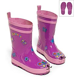 Kidorable™ Girls' Butterfly Rain Boots