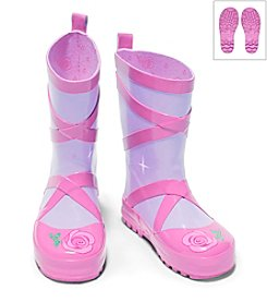 Kidorable™ Girls' Ballerina Rain Boots