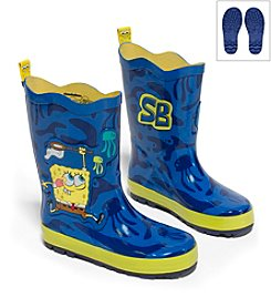 Kidorable™ Boys' SpongeBob Rain Boots