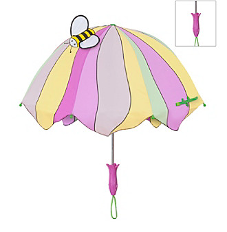 Kidorable yellow-pink lotus umbrellas