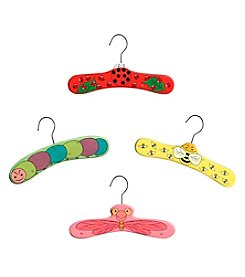Kidorable™  4-pk. Critters Hanger Set