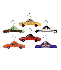 Kidorable™ 6-pk. Transportation Hanger Set