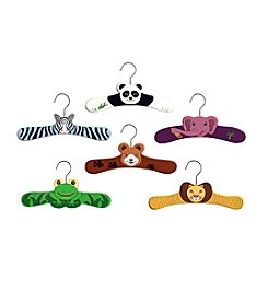 Kidorable™ 6-pk. Wild Animal Hanger Set