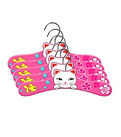 Kidorable™ 5-pk. Lucky Cat Hanger Set