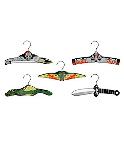 Kidorable™ 5-pk. Dragon Knight Hanger Set