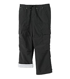 Ruff Hewn Mix & Match Boys 2T-7 Black Lined Cargo Play Pants