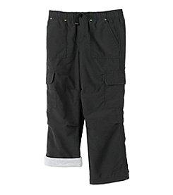 Ruff Hewn Mix & Match Boys 2T-7 Black Lined Cargo Play Pants