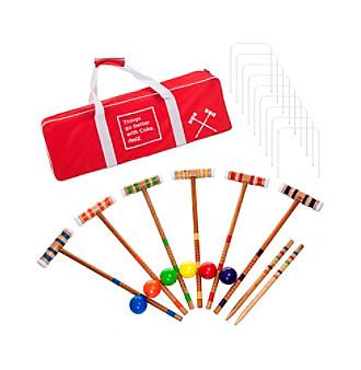 Trademark Games™ Coca Cola 24-pc. 6 Player Croquet Set