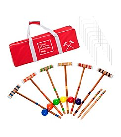 Trademark Games™ Coca Cola 24-pc. 6 Player Croquet Set
