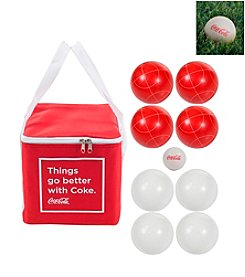 Trademark Games™ Coca Cola Regulation Size Bocce Ball Set