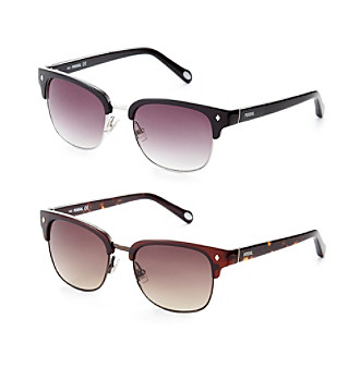 e53bf9fd21939 ... UPC 716737549308 product image for Fossil® Clubmaster Sunglasses ...
