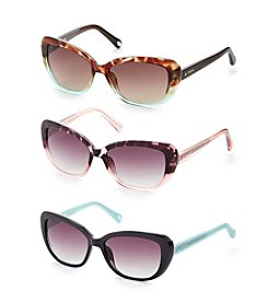 Fossil® Butterfly Cat Eye Sunglasses