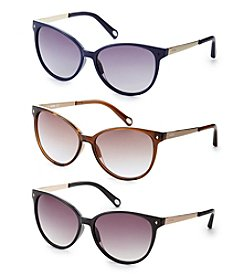Fossil® Thin Cat Eye Sunglasses