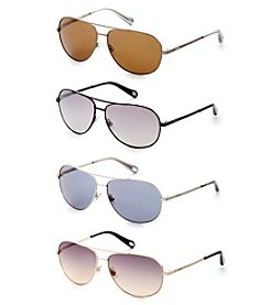 Fossil® Small Aviator Sunglasses
