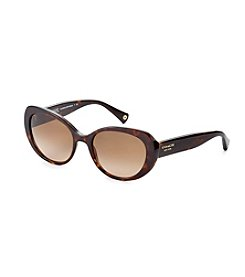 COACH DARK TORTOISE ALEXA SUNGLASSES
