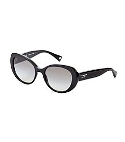 COACH BLACK ALEXA SUNGLASSES *