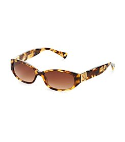 COACH SPOTTY TORTOISE HOPE SUNGLASSES