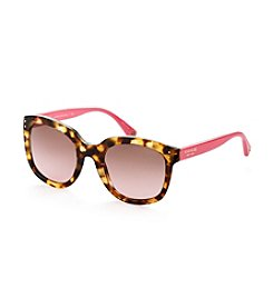 COACH SPOTTY TORTOISE/PINK CASEY SUNGLASSES