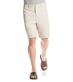 Izod® Men's Big & Tall Saltwater Flat-Front Shorts