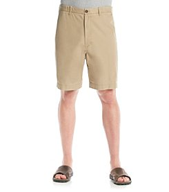 Izod® Men's Big & Tall Saltwater Flat Front Shorts