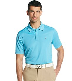 Callaway® Men's Blue Atoll Short Sleeve 'Razor' Polo Shirt