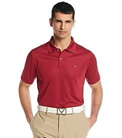 Callaway® Men's Beet Red Short Sleeve 'Razor' Polo Shirt