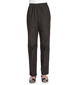 Alfred Dunner® Solid Regular Pants