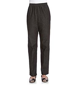 Alfred Dunner® Solid Regular Pants