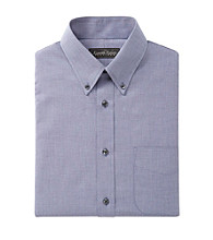 Kenneth Roberts Platinum® Men's Solid Texture Buttondown Collar Dress Shirt