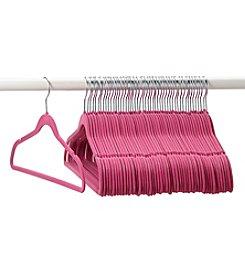 LivingQuarters 50-pk. Pink Hangers