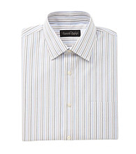 Kenneth Roberts Platinum® Men's Multi Stripe Spread Collar Dress Shirt