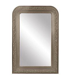 Sheffield Home® Aged Silver Half Round Mirror
