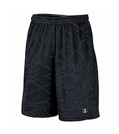 Champion® Men's Black Grey Beam Powertrain Knit Short