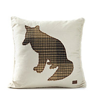 Field & Stream® Fox Applique Pillow