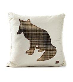 Field & Stream® Fox Applique Pillow