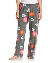 HUE® Knit Grey/Multi Pants - Bell Floral