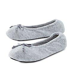 Isotoner® Signature Terry Ballerina Flat Slippers