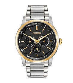 Citizen® Eco-Drive Men's Two-Tone Multifunction Watch