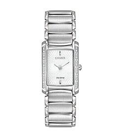 Citizen® Eco-Drive Women's Stainless Steel Euphoria Watch