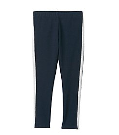 OshKosh B'Gosh® Girls' 2T-6X Navy Tuxedo Glitter Striped Leggings