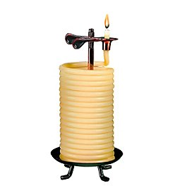 Candle by the Hour® Natural Vertical Candle