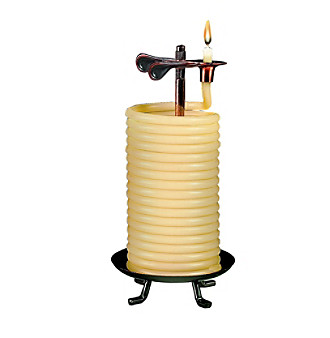 Candle by the Hour 80 Hour Natural Citronella Vertical Candle