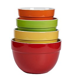Tabletops Gallery® 4-pc. Classic Multicolor Mixing Bowl Set
