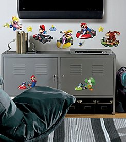 RoomMates Wall Decals Nintendo Mario Kart Peel & Stick Wall Decals