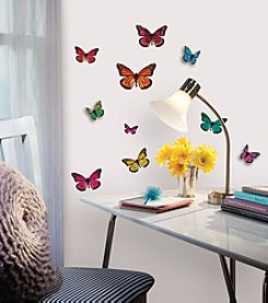 RoomMates Butterfly 3D Wall Decals