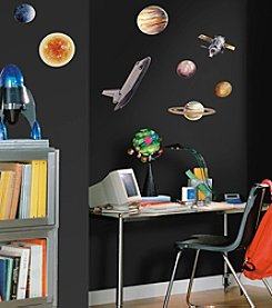 RoomMates Space Travel Peel & Stick Wall Decals