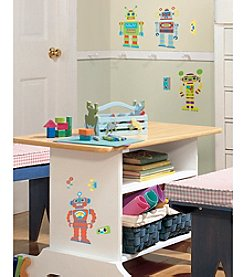 RoomMates Wall Decals Build Your Own Robot Peel & Stick Wall Decals