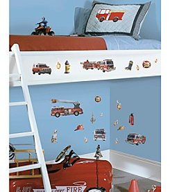RoomMates Fire Brigade P&S Wall Decals