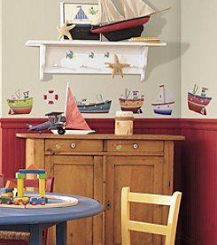RoomMates Ship Shape P&S Wall Decals